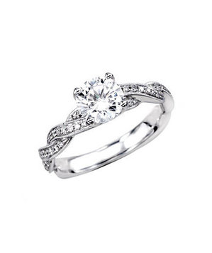 wedding diana simple a engagement to stone ring guide side quick rings