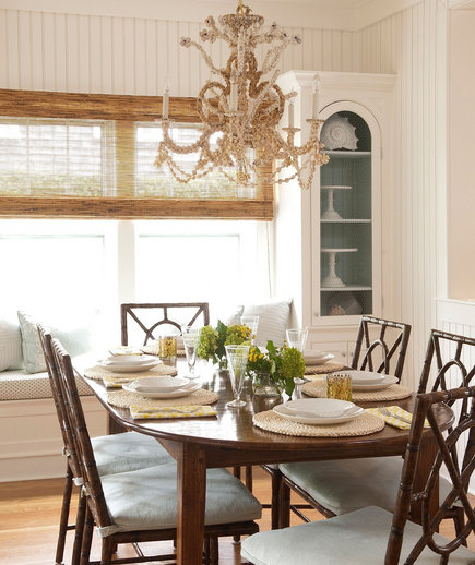Going Coastal | 32 Elegant Ideas for Dining Rooms | Real Simple