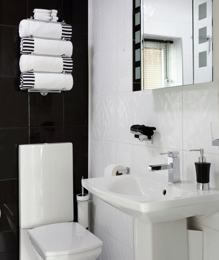 Modern Family | 15 Great Bathroom Design Ideas | Real Simple