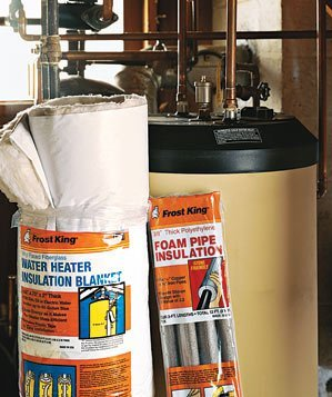 Insulation water heater