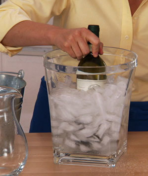 How To: Quickly Chill Wine