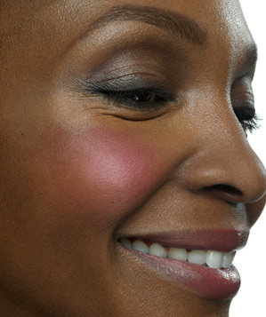 Applying Blush Incorrectly