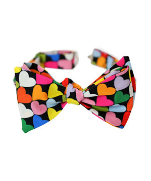 Heart to Heart Bow Tie