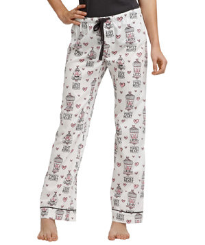 PJ Salvage All About Love Tweet Heart Pants