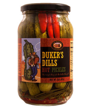Duker's Dills Hot Pickles