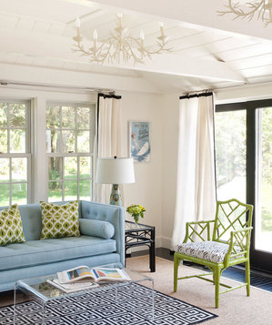 bright living room ideas. Lime green chair 33 Modern Living Room Design Ideas  Real Simple