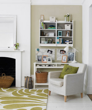 Office Space Create A Petite Home In Your Living Room
