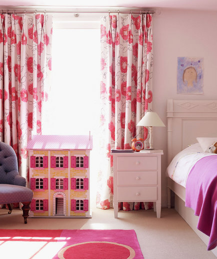 pretty in pink - Modern Girl Bedroom Ideas