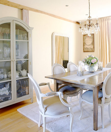 French Accents   32 Elegant Ideas for Dining Rooms   Real Simple
