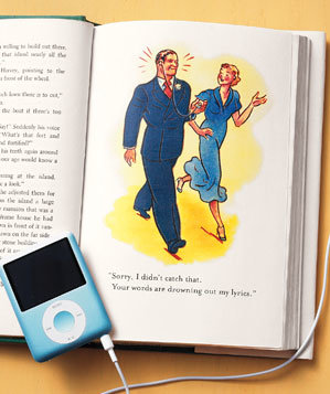 Book with Ipod