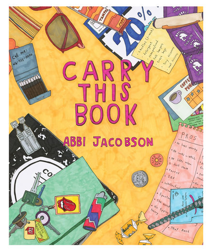 Carry This Book, by Abbi Jacobson