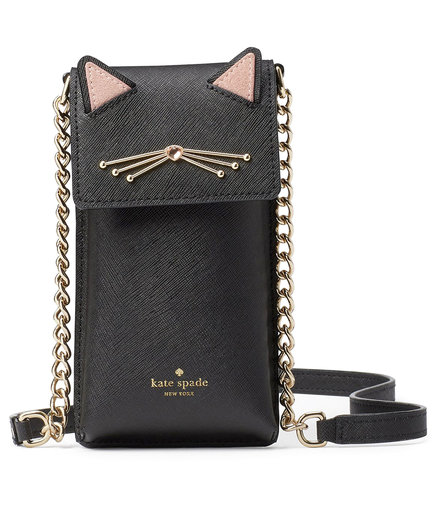 Kate Spade North South Cat Crossbody Bag