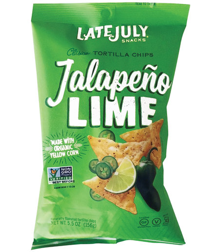 Late July Clásico Jalapeño Lime Tortilla Chips