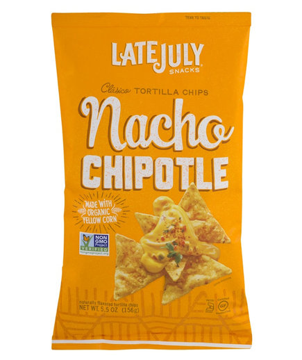 Late July Snacks Clasico Nacho Chipotle Tortilla Chips