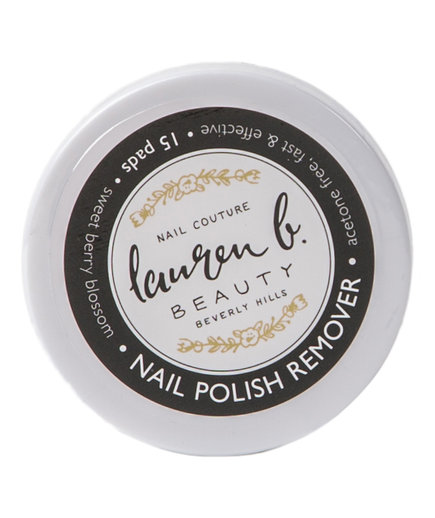 Lauren B. Beauty Nail Polish Remover Pads