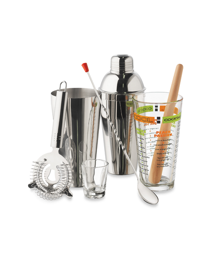 Libbey 9-Piece Cocktails Mixologist Set