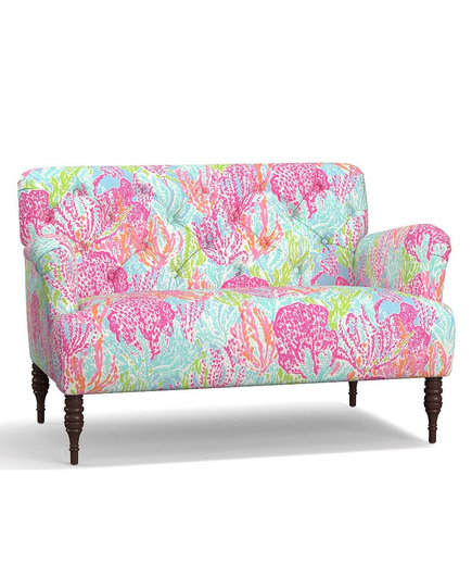 Lilly Pulitzer Madison Upholstered Settee