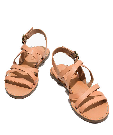 The Boardwalk Multistrap Sandal from Madewell