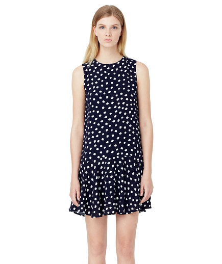 Mango Polka Dot Dress