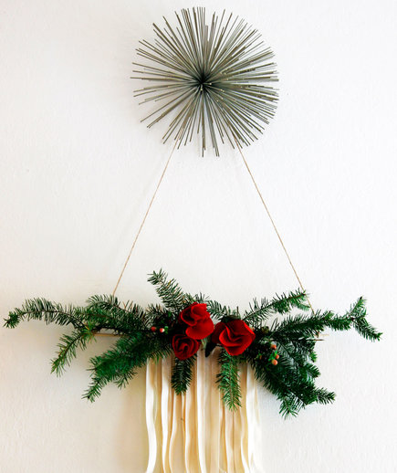 Modern Hanging Christmas Tree
