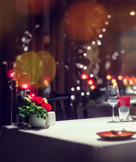 Most romantic restaurants for date night, valentine's day, anniversary - romantic restaurant