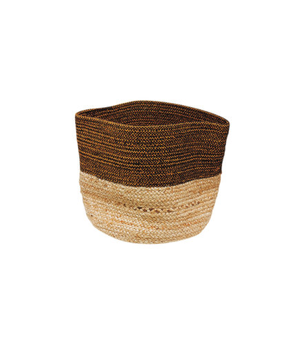 Nate Berkus Jute-and-Lurex Storage Bin