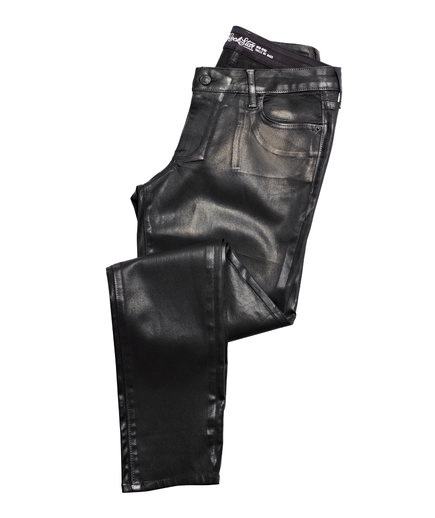Old Navy Midrise Coated Rockstar Pants