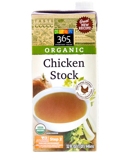 365 Everyday Value Organic Chicken Stock