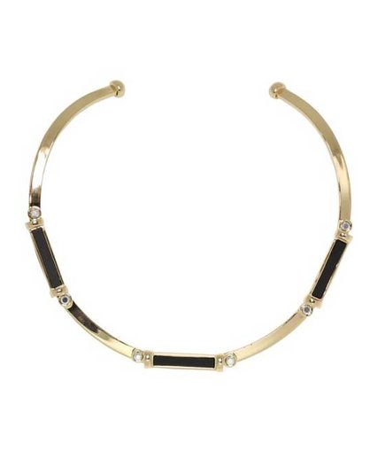 Poverty Flats by Rian Resin Collar Necklace