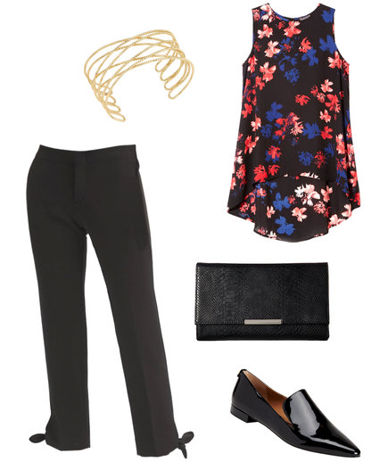 Thanksgiving Outfit: The Printed Top