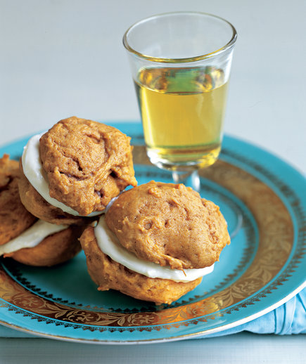Pumpkin Cream Sandwiches (Halloween Pumpkin Cookies)