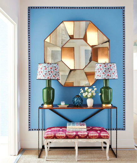 The Incredibly Easy Decorating Trick That Will Transform Your Entryway