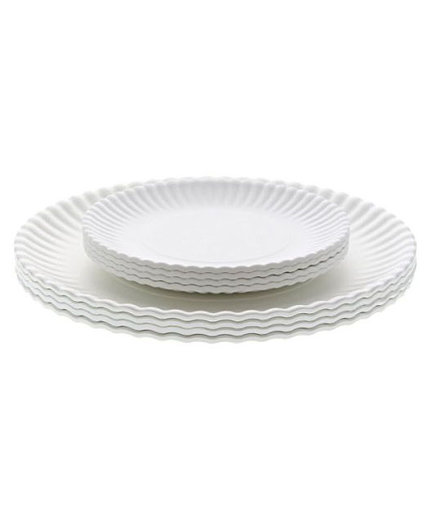 "Reusable ""Paper"" Dinner Plates"
