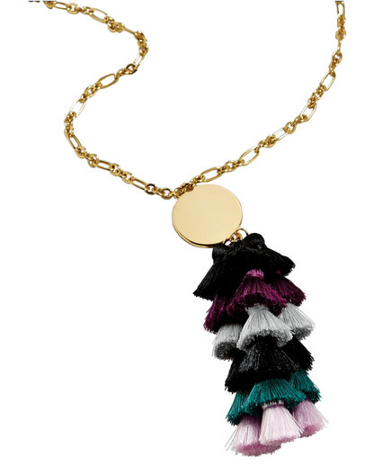 Rima Tassel Necklace