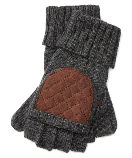 Convertible Quilted Mittens