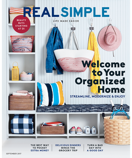 Real Simple Cover September 2017