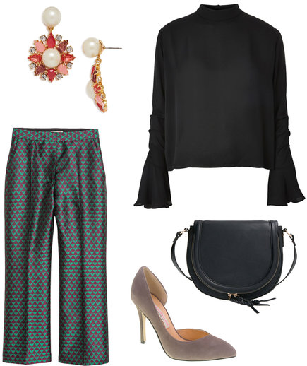 Thanksgiving Outfit: The Simple Blouse