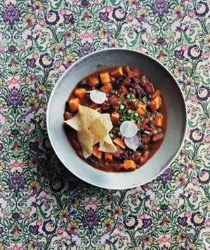Clone of Slow-Cooker Vegetarian Chili With Sweet Potatoes