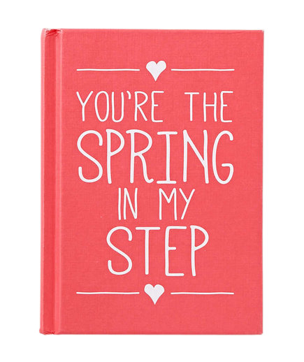 """You're the Spring in My Step"" Book"