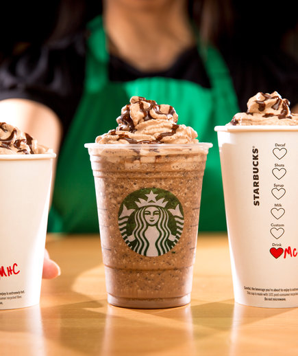 Starbucks Valentine's Day Drinks