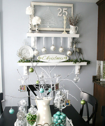 Tiered Shelves Christmas Tree