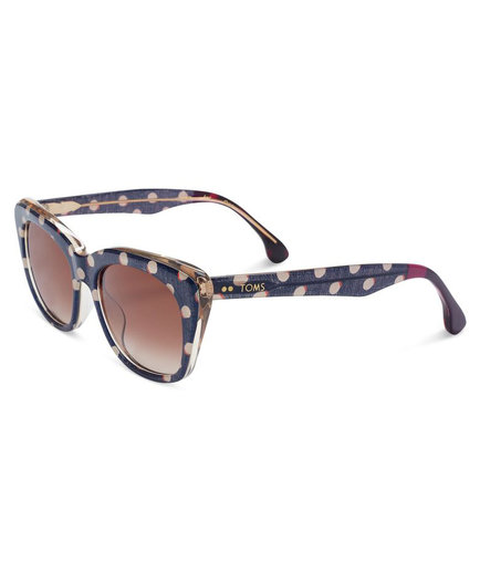 Toms Kitty Retro Polka Dot Sunglasses
