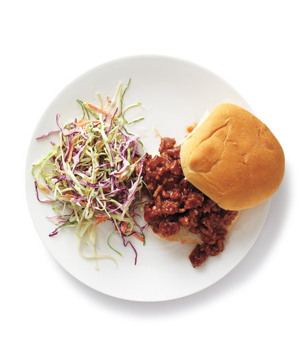 Turkey Sloppy Joes with Coleslaw
