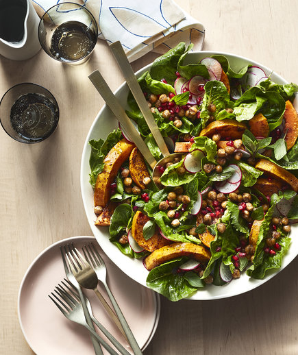 Vegan Winter Squash Salad