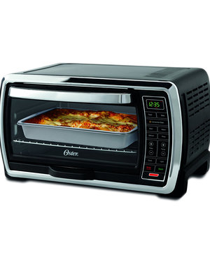 Oster Large Capacity Countertop 6 Slice Digital Convection Toaster Oven