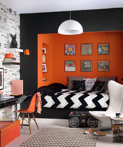 Incroyable Colorful Decorating Ideas For A Small Room