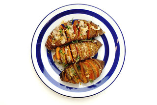 hasselback-cheesy-roasted-sweet-potatoes