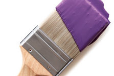 purple-paint-brush
