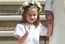 royal-wedding-princess-charlotte-channels-prince-harry-sticking-out-tongue