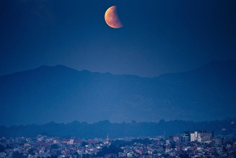 Insanely Stunning Photos of the Super Blue Blood Moon
